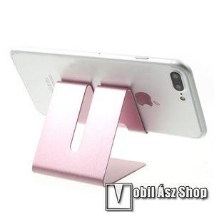 UNIVERZÁLIS asztali telefon tartó, állvány - ROSE GOLD kép