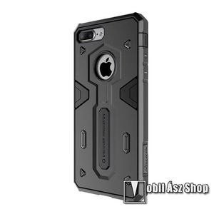 iPhone 8 Plus / 7 Plus Szilikon Tok - Fekete kép
