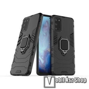 Samsung szilikon tok - Galaxy S20 fekete színű készülékekhez kép
