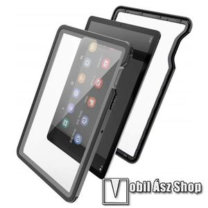Vízálló Műanyag védő tok / hátlap - IP68-as védelem, szilikon betétes - ERŐS VÉDELEM! - FEKETE - SAMSUNG SM-T725 Galaxy Tab S5e 10.5 LTE / SAMSUNG SM-T720 Galaxy Tab S5e 10.5 Wi-Fi kép