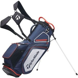 TaylorMade Pro Stand 8.0 Stand Bag Navy/White/Red 2020 kép
