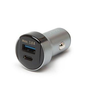 Autós szivargyújtó adapter USB aljzattal kép