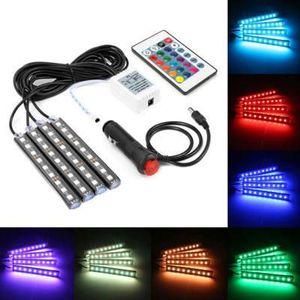 LED RGB Világítás Autóba Nagy kép