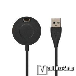 Okosóra töltő / USB töltő - 1m kábel, 5V / 500mA - Garmin Fenix 5 / Garmin Fenix 5S / Garmin Fenix 5X Plus kép
