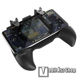 IPEGA 9117 UNIVERZÁLIS Kontroller / Joystick - ravasz FPS játékokhoz, gamepad, PUBG-hez ajánlott, 63-83mm-ig nyíló bölcső - FEKETE - PG-9117 - GYÁRI kép