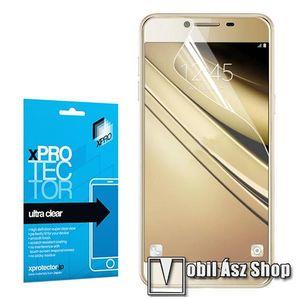 Xpro képernyővédő fólia - Clear - 1db, törlőkendővel - SAMSUNG Galaxy C5 - GYÁRI kép