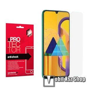 Xpro Anti Shock Flexible rugalmas előlap védő karcálló edzett üveg - 9H, Arc Edge, A képernyő sík részét védi - SAMSUNG Galaxy A31 (SM-A315F) - GYÁRI kép