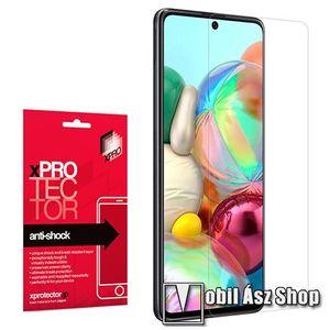 Xpro Anti Shock Flexible rugalmas előlap védő karcálló edzett üveg - 9H, Arc Edge, A képernyő sík részét védi - SAMSUNG Galaxy Note10 Lite (SM-N770F) / SAMSUNG Galaxy A71 (SM-A715F) / SAMSUNG Galaxy A71 5G (SM-A716F) - GYÁRI kép
