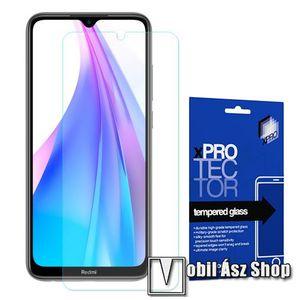 Xpro előlap védő karcálló edzett üveg - 0, 33 mm vékony, 9H, Arc Edge, A képernyő sík részét védi - Xiaomi Redmi Note 8T - GYÁRI kép