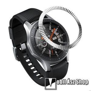 Okosóra lünetta védő alumínium - EZÜST - SAMSUNG Galaxy Watch 46mm kép
