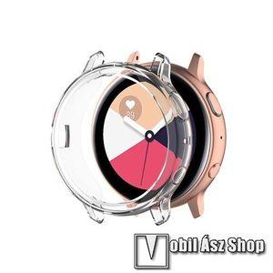 Okosóra szilikontok - ÁTLÁTSZÓ - SAMSUNG Galaxy Watch Active2 40mm kép