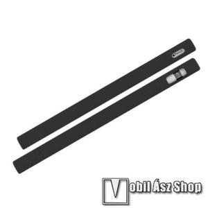 LOVE MEI szilikon védő tok Apple Pencil-hez (2nd Generation) - 2db sapka, 5db hegyvédő, 0, 4mm vékony - FEKETE - GYÁRI kép