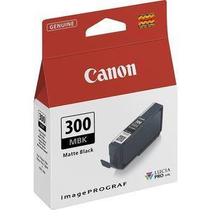 Canon PFI-300MBK matt fekete kép