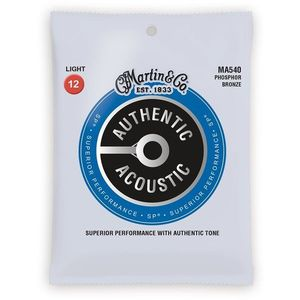 MARTIN Authentic SP 92/8 Phosphor Bronze Light kép