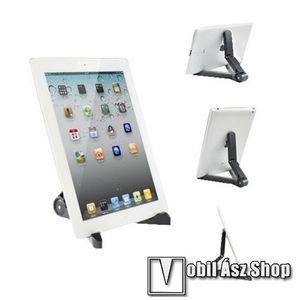 UNIVERZÁLIS Tablet PC tartó / asztali állvány - FEKETE kép