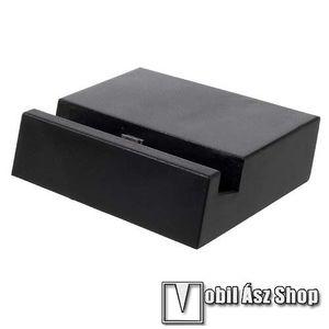 Asztali töltő / dokkoló - adatátviteli állvány, USB 3.1 Type C - FEKETE kép