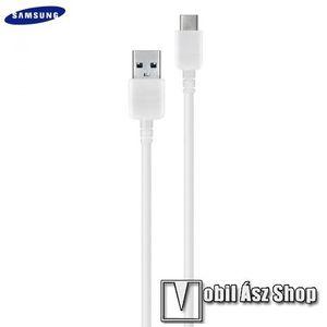 SAMSUNG USB - USB Type-C adat- és töltőkábel 150 cm-es vezetékkel - EP-DW700CWE - FEHÉR - GYÁRI kép