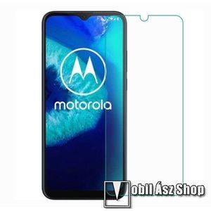 Előlap védő karcálló edzett üveg - 0, 3 mm vékony, 9H, Arc Edge, A képernyő sík részét védi - Motorola Moto M kép