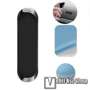 UNIVERZÁLIS Magnetic autós / gépkocsi tartó - mágneses, műszerfalra ragasztható, 6.9 x 2 x 0.5cm - FEKETE kép