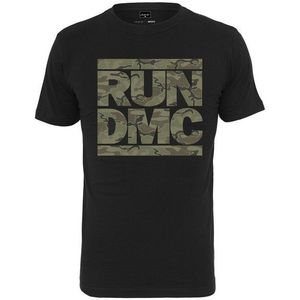 Run DMC Camo Tee Black M kép