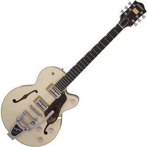 Gretsch G6659T Players Edition Broadkaster JR Ebony 2-Tone Lotus Ivory WC kép