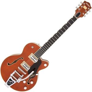 Gretsch G6659T Players Edition Broadkaster JR Ebony Roundup Orange WC kép