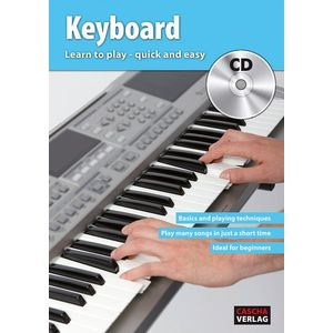 Cascha Keyboard Learn To Play Quick And Easy kép