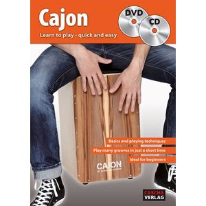 Cascha Cajon Learn To Play Quick And Easy kép