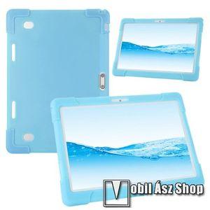 """UNIVERZÁLIS tablet PC szilikon védő tok - VILÁGOSKÉK - erősített sarkok, 10""""-os készülékekhez ajánlott kép"""