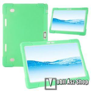 """UNIVERZÁLIS tablet PC szilikon védő tok - ZÖLD - erősített sarkok, 10""""-os készülékekhez ajánlott kép"""
