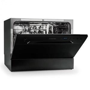 Klarstein Amazonia 6 Nera asztali mosogatógép 1380 W, A+, 6 teríték, 49dB kép