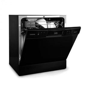 Klarstein Amazonia 8 Neo, mosogatógép, 8 program, LED kijelző, fekete kép