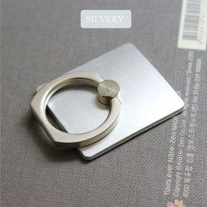 Telefon gyűrű, szelfi gyűrű, telefontartó gyűrű Ezüst kép