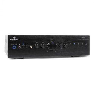 Auna CD708 stereo erősítő, AUX phono, fekete, 600 W kép