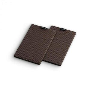 Numan Retrospective 1979 S polchangfal textil burkolat, 2 darab, fekete-barna kép