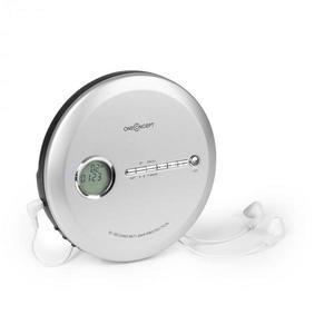 OneConcept CDC 100 MP3 discman, hordozható CD-lejászó, Antishock, ESP, Micro-USB ezüst kép