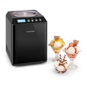 Klarstein Vanilly Sky Family, fagyasztott joghurt és fagylaltkészítőgép, 250 W, 2, 5 l, fekete kép