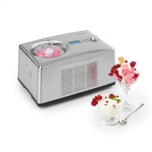 Klarstein Yo & Yummy, joghurt és fagylaltkészítőgép, 2 az 1-ben, 150 W, 1, 2 l, rozsdamentes acél kép