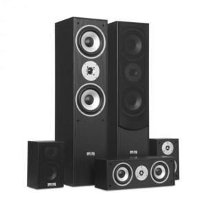 Auna surround hangfal szett, házimozi, 335 W, RMS, fekete kép