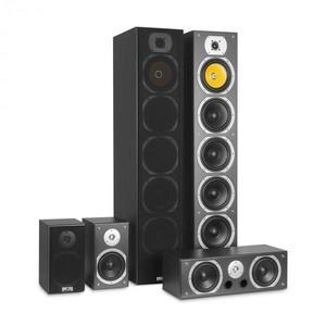 Auna V9B, surround hangfalak, 5 dobozos szett, 440 W RMS, fekete kép