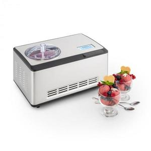 Klarstein Dolce Bacio, fagylaltkészítő , kompresszor, 2 l, LCD kijelző, érintésvezérlés, nemesacél kép