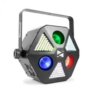 Beamz MadMan LED reflektor, 132 RGB 3in1 SMD LED, DMX- vagy Standalone üzemmód kép