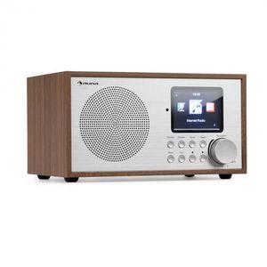 Auna Silver Star Mini, internet DAB+/FM rádió, WiFi, BT, DAB+/FM, tölgyfa kép