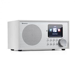 Auna Silver Star Mini, internet DAB+/FM rádió, WiFi, BT, DAB+/FM, fehér kép