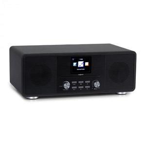 OneConcept Streamo CD, internet rádió, 2 x 10 W, WLAN, DAB+, FM, CD-lejátszó, BT, fekete kép