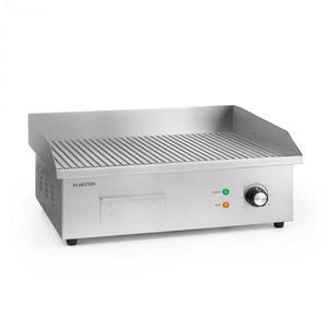 Klarstein Grillmeile 3000G, elektromos grill, 3000 W, grill lap, 54, 5 x 35 cm, bordás felületű kép