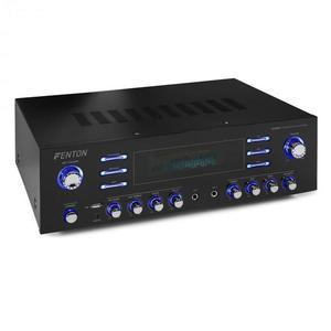 Fenton AV340BT, surround HiFi erősítő, 510 W RMS (2 x 180 W 8 Ohm-ra), BT/USB/AUX kép