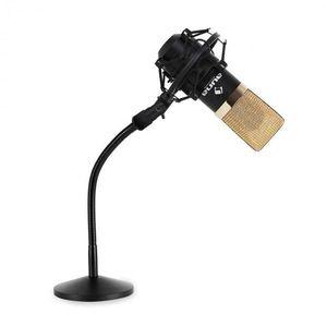 Auna Stúdió mikrofon szett mikrofon állvánnyal kép