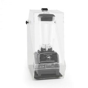 Klarstein Herakles 2G, fekete, asztali turmixgép, fedővel, 1200 W, 1, 6 k, 2 liter, BPA-mentes kép