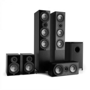 Numan REFERENCE 851 5.1-soundsystem, fekete kép